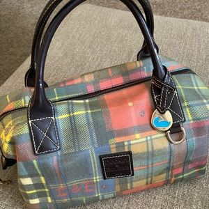 Authentic Dooney & Bourke Plaid Duffle